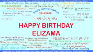 Elizama   Languages Idiomas - Happy Birthday