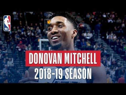 Donovan Mitchell's Best Plays From The 2018-19 NBA Regular Season