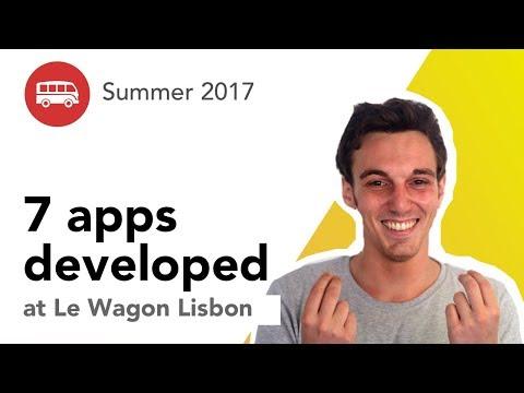 7 Apps Developed At Le Wagon Lisbon - Batch#86