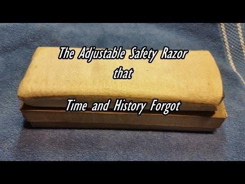 The Darwin Universal Razor - The Adjustable Safety Razor that Time and History Forgot