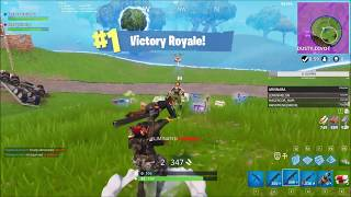 FORTNITE WIN... But Pump Shotgun Bullets Don't Register TWICE **BUG?? **