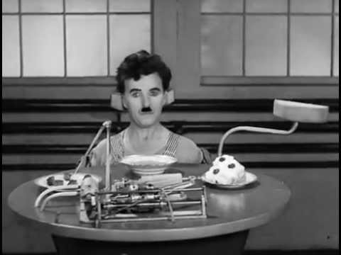 Charlie Chaplin - Eating Machine