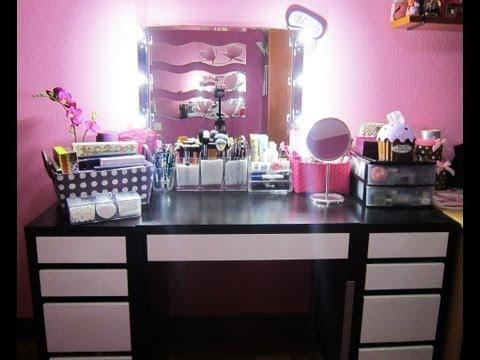 Colección de Maquillaje 2013 / Make up Collection + Vanity Tour 2013