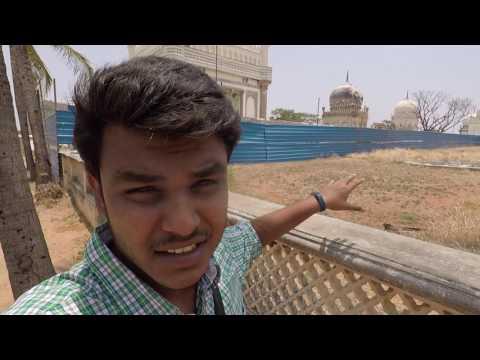 Qutb Shahi tombs Hyderabad India- 4k