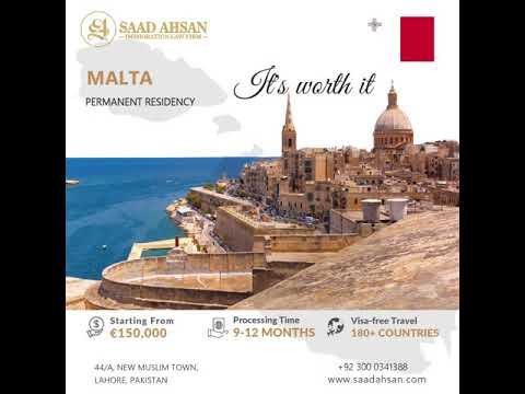 Malta Permanent Residency Program | Saad Ahsan Immigration L