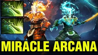 MIRACLE ARCANA WITH 2 BUTTERFLIES !!! - Dota 2