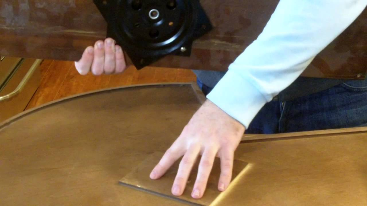RTA Cabinet Store Lazy Susan Assembly - Turn Table - YouTube