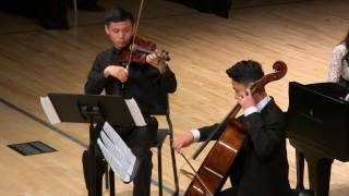 JCM-OC Season 2016-17 Final Concert: Bohm Piano Trio No. 1 in D Major, Op. 330