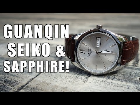 Guanqin Automatic Dress Watch Review (GJ16034) c/o GearBest - Perth WAtch #145