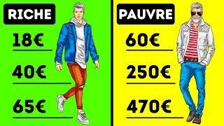 7 Différences Entre Les Riches et Les Pauvres