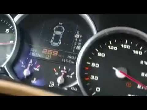 PORSCHE CAYENNE TURBO S acceleration - ??? km/h