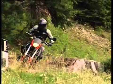 La moto BMW G 650 X
