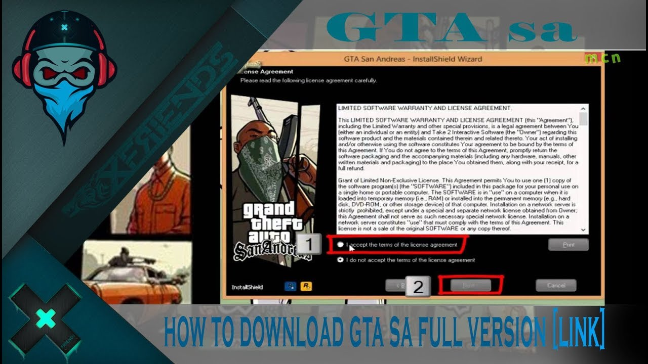 download gta san andreas full game pc with crack