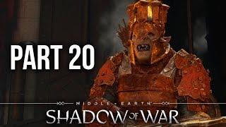 MIDDLE EARTH SHADOW OF WAR Gameplay Walkthrough Part 20 - FINAL FORTRESS BATTLE
