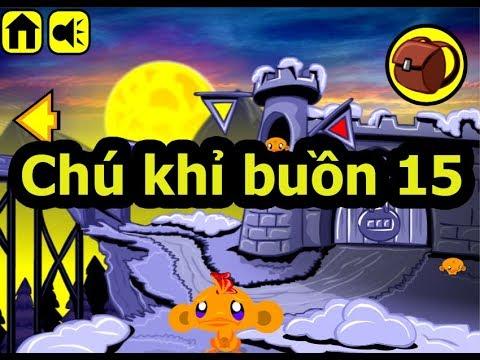 Chú khỉ buồn 15, Chơi game chú khỉ buồn online tại Gamehay24h.vn
