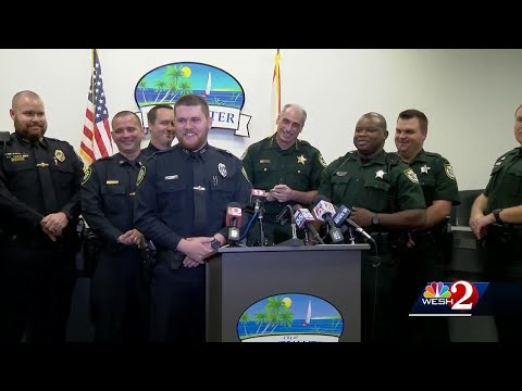 Officers, deputies save man from burning vehicle: 'We just kept trying'
