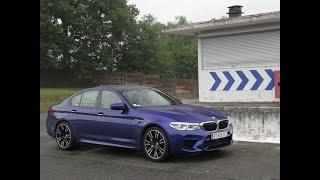 Essai BMW M5 2018