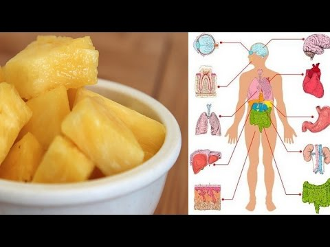 See what happens to your body when you eat pineapple every day