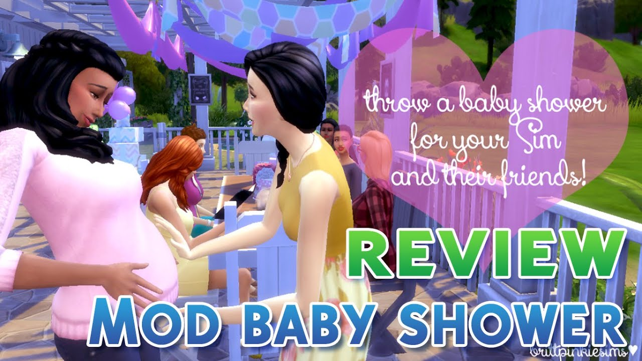 Sims  Baby Shower Decor