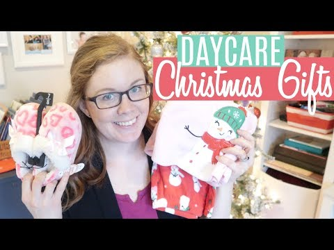 What I Got My Daycare Kids For Christmas | PRACTICAL GIFT IDEA