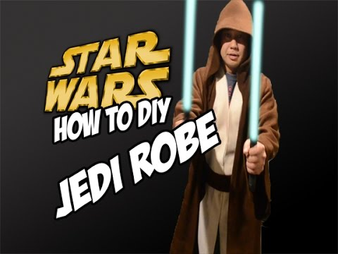 how to make a star wars jedi robe