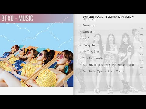 [Full Album] Red Velvet - Summer Magic - Summer (Mini Album)