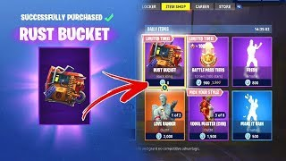 RUST BUCKET IS OUT FOR FREE!! Fortnite Daily Funny Moments (Fortnite Battle Royale)