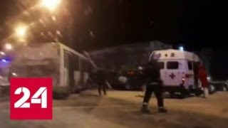 Смотреть видео ДТП в Республике Коми: 15 человек пострадали - Россия 24 онлайн