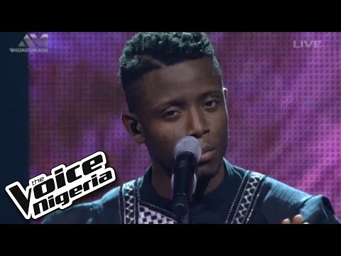 """Chike sings """"No Woman, No Cry"""" / Live Show / The Voice Nigeria 2016"""