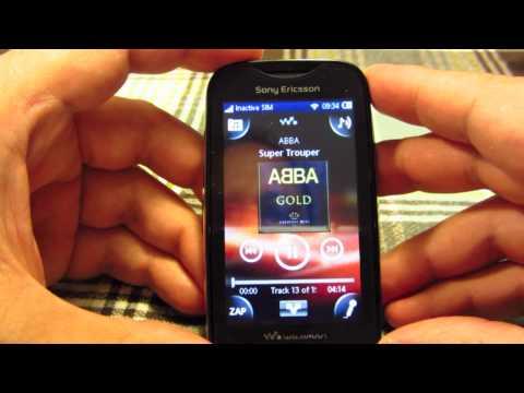 Sony Ericsson Mix Walkman phone - hands on