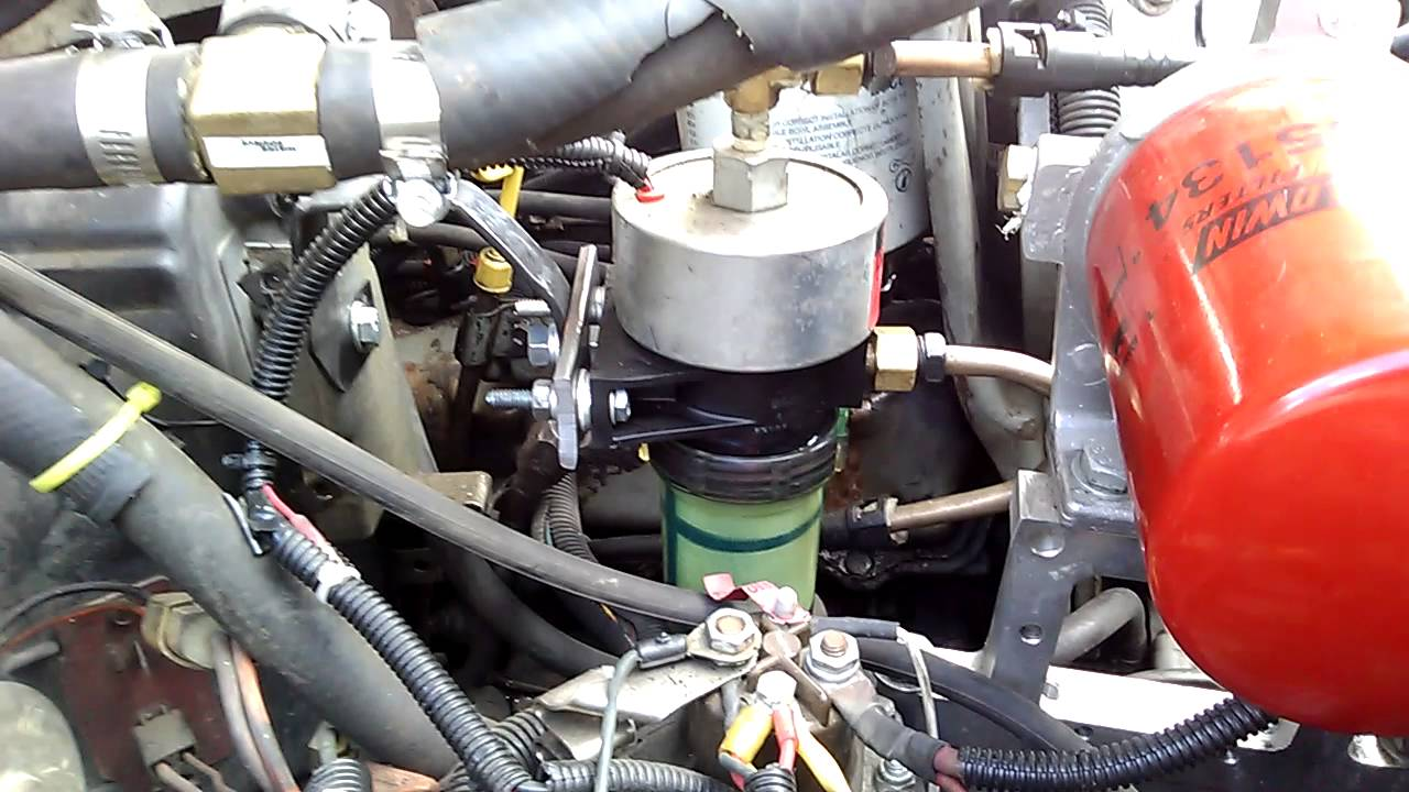 Facet Fuel Pump >> Facet fuel pump on 7.3 IDI - YouTube
