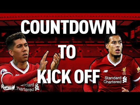 Manchester City v Liverpool | Countdown to Kick Off LIVE