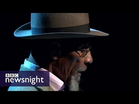 Derek Walcott tribute: Linton Kwesi Johnson reads Love After Love - BBC Newsnight