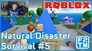 Roblox Natural Disaster Survival #5 by Stickmasterluke | Kid Gaming Channel