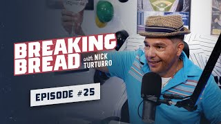 MLB PLAYOFFS PREVIEW! LET'S GO YANKEES! Breaking Bread w/ Nick Turturro #25