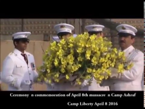Iraq: Camp Liberty Ceremony for 08 April 2016 massacre