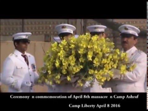 Iraq: Camp Liberty Ceremony for April 8, 2016 massacre