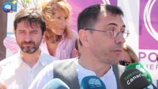 Juan Carlos Monedero en Corralejo (21/06/2016)