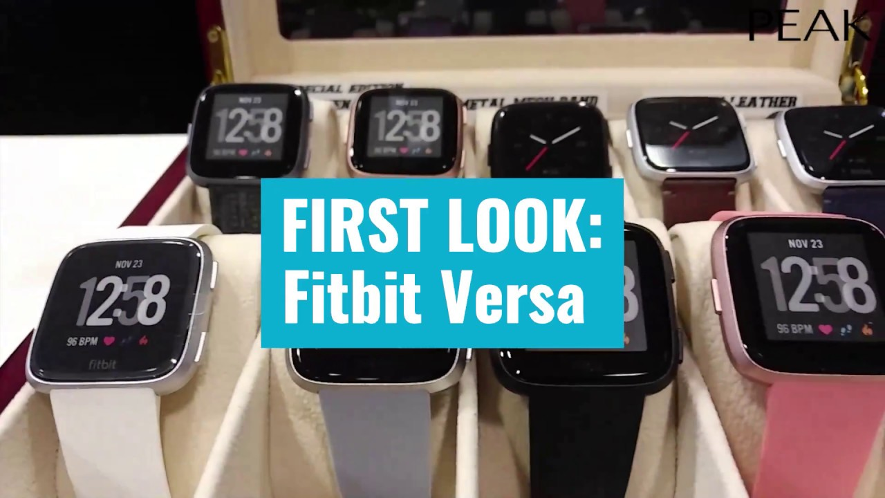 First look: Fitbit's new Versa smartwatch is the one you've been