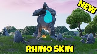 NEW RHINO SKIN STRUCTURE IN FORTNITE