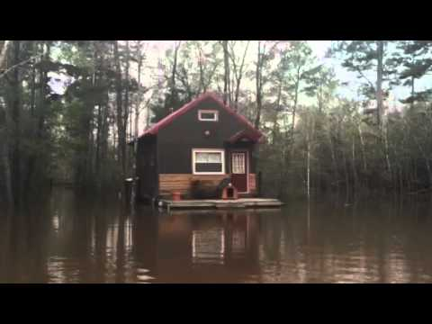 Floating Cabin For Sale in Pensacola Florida  Tiny Home for Sale  Tiny Home  YouTube