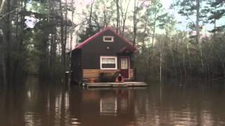 Floating Cabin For Sale In Pensacola Florida | Tiny Home For Sale | Tiny Home