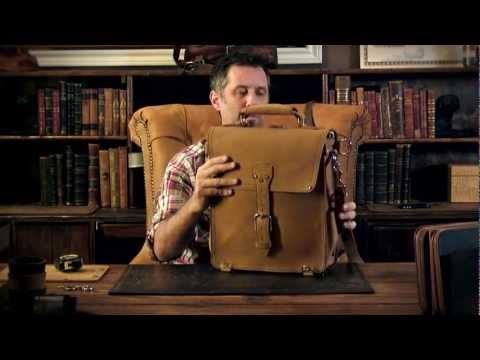 Leather Messenger Bag, Saddleback Leather Co.