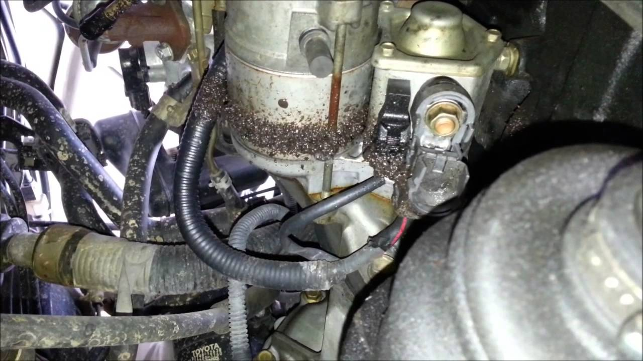 How To Replace A Starter On 1996 Toyota Corolla Youtube 1993 Wiring Diagram Manual
