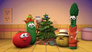 VeggieTales Merry Larry and the True Light of Christmas Countertop Scene