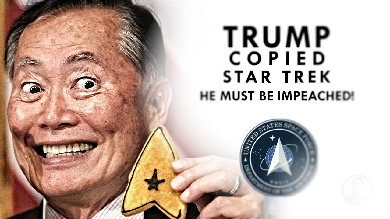 Did Trump Copy Star Trek?! - Mr. Reagan