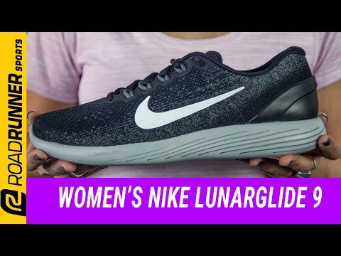 new styles bb090 90583 Women s Nike LunarGlide 9   Fit Expert Review - YouTube