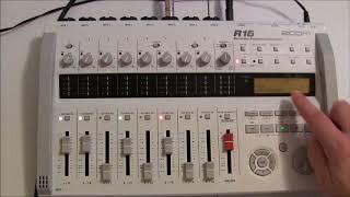 zoom r16 recorder step by step tutorial