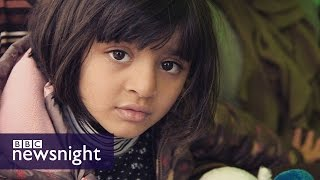 The search for a promised land: Migrant crisis in Greece - BBC Newsnight
