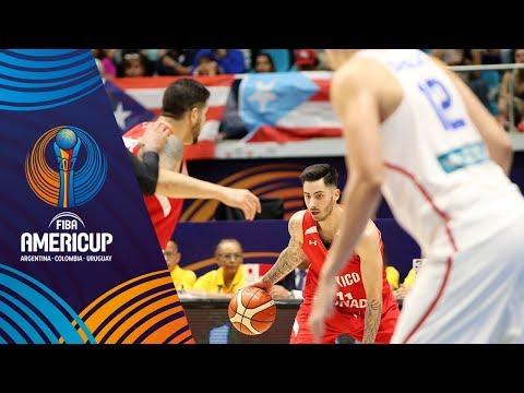 Puerto Rico vs Mexico - Highlights - Group A - FIBA AmeriCup 2017